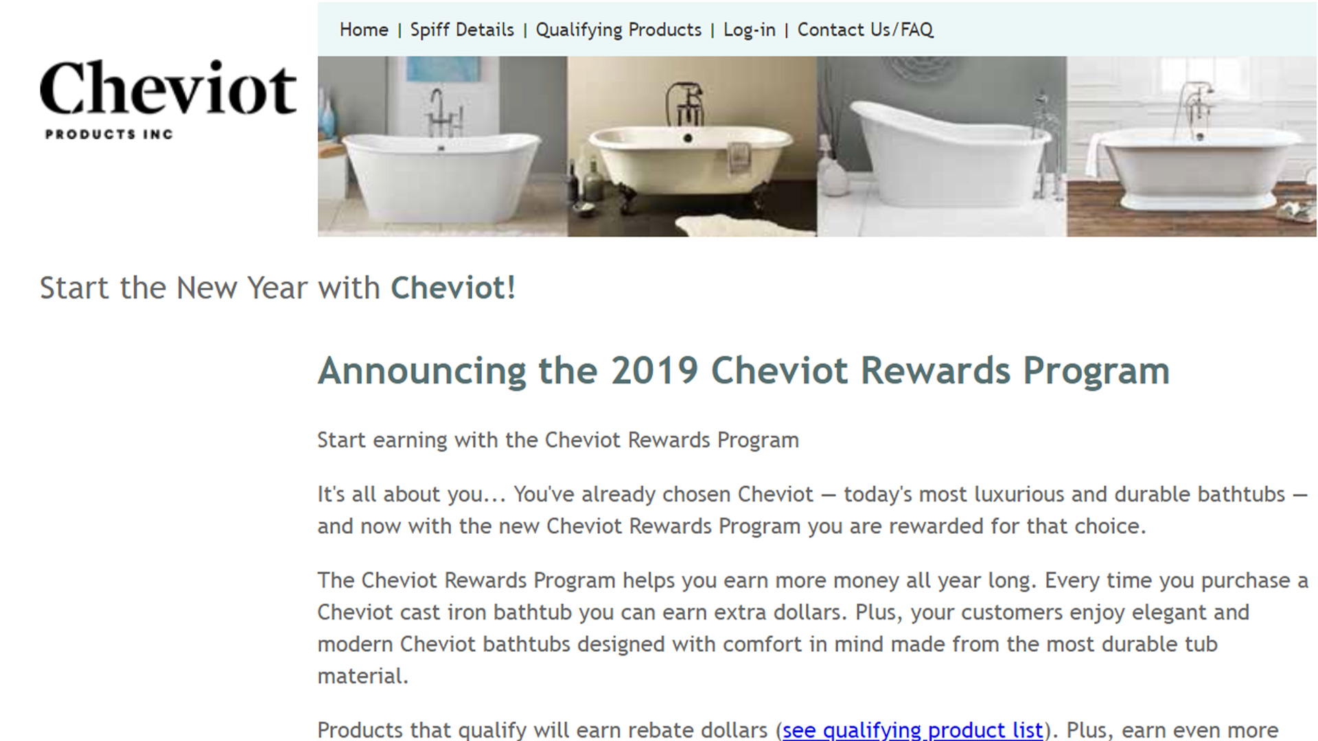 Cheviot Rewards Program